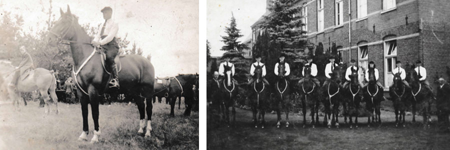 Anna Hoeve Horses oude foto's historie